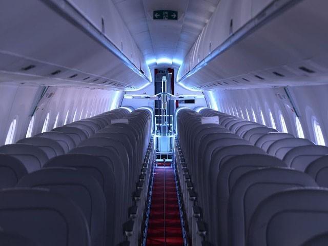 سوئس ہوائی جہازوں میں روبوٹس جراثیم کا خاتمہ کریں گے