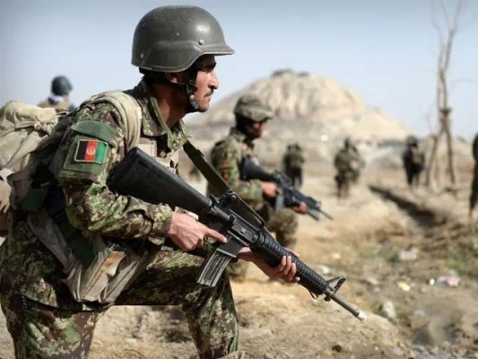 آپریشن کے دوران سیکیورٹی فورسز کو افغان فضائیہ کی مدد بھی حاصل تھی