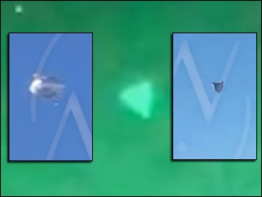 عجیب و غریب، مثلث نما اُڑن طشتری پچھلے سال امریکی بحریہ کے ایک اہلکار نے دیکھی تھی۔ (فوٹو: سوشل میڈیا/ یوٹیوب اسکرین گریب)