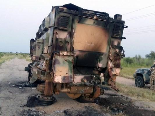 حملہ آور فوجی لباس اور فوجی ٹرکوں میں سوار ہوکر آئے تھے، فوٹو: فائل