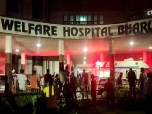 50 سے زائد مریضوں کو قریبی اسپتالوں میں منتقل کیا گیا، فوٹو: بھارتی میڈا