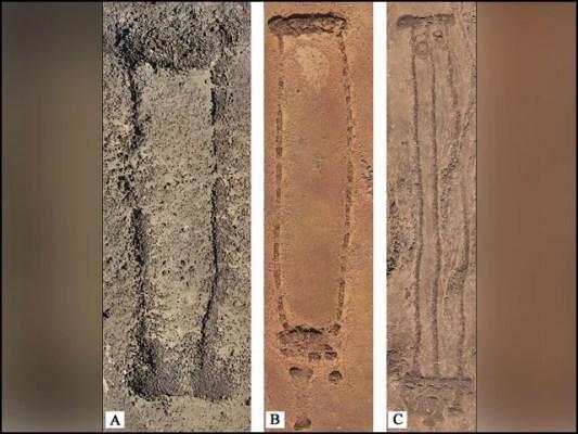 حیرت انگیز طور پر اس طرح کے آثارِ قدیمہ سعودی عرب کے صرف ایک علاقے کے سوا کہیں اور موجود نہیں۔ (تصاویر: اینٹیکیٹی)