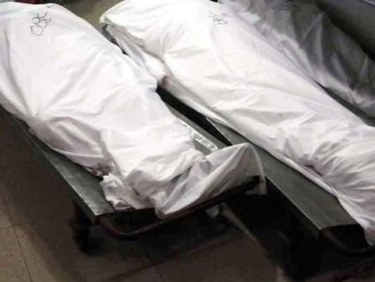 پولیس کی جوابی فائرنگ سے دو مبینہ دہشت گرد جاں بحق ہوگئے ہیں۔ فوٹو: فائل