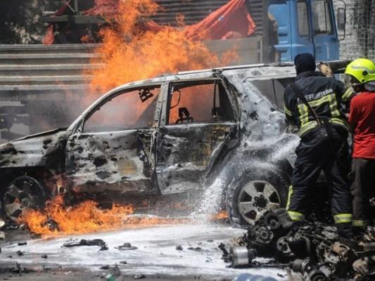 حملے میں 6 اہلکار زخمی بھی ہوئے، فوٹو: فائل