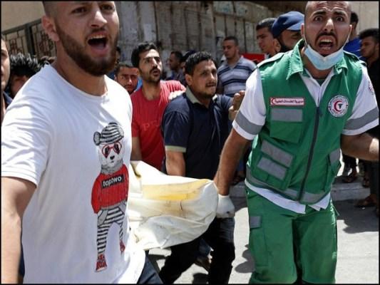 فلسطینی شہداء میں کم از کم 31 بچے شامل ہیں جبکہ زخمیوں کی تعداد 600 ہوچکی ہے۔ (فوٹو: انٹرنیٹ)