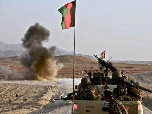 جھڑپ میں طالبان کمانڈر اور ضلعی گورنر بھی مارے گئے، افغان حکومت ( فوٹو:فاٗل)