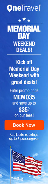 Beach Travel Deals! Get up to $35 off◊ our fees on flights with promo code BEACH35.