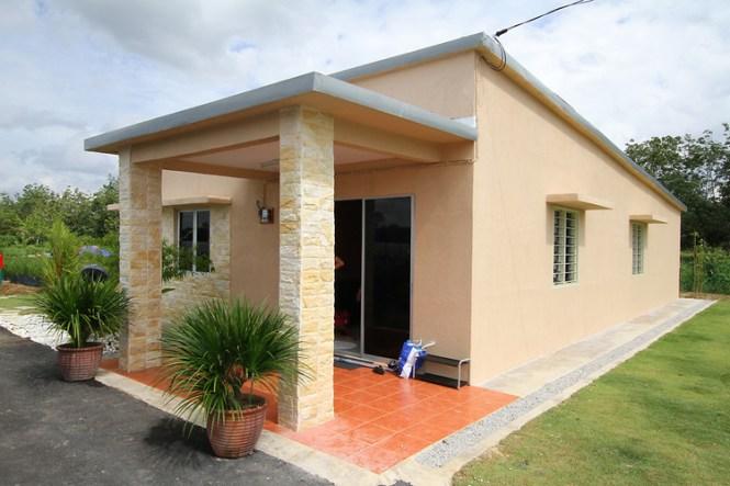 simple home design in village : brightchat.co