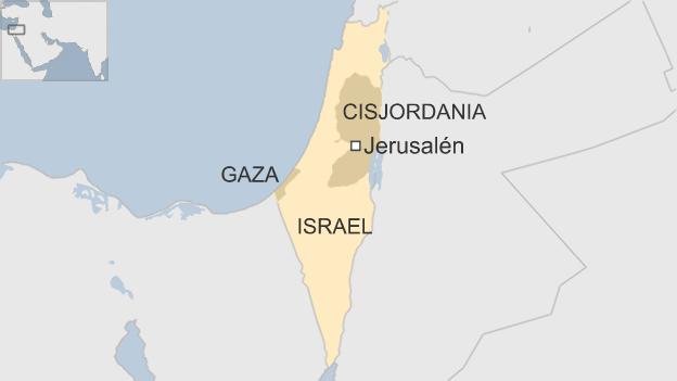 Mapa territorios palestinos
