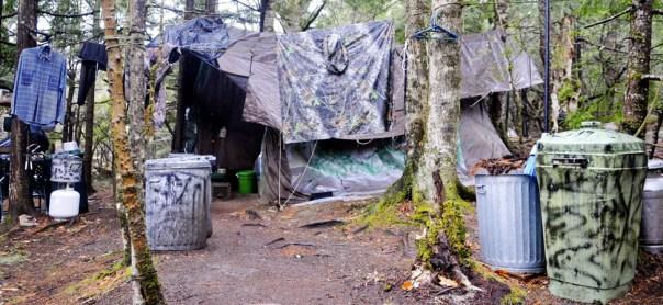 El campamento de Knight