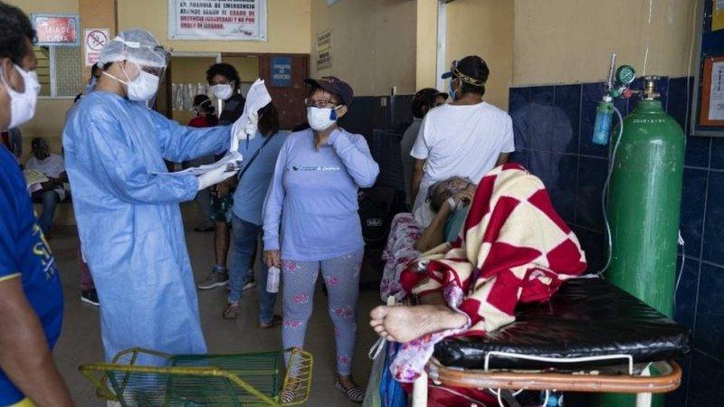 Un hospital en Perú