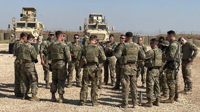 Louisiana Ulusal Muhafız birlikleri Suriye'nin kuzeydoğusuna konuşlandırıldı