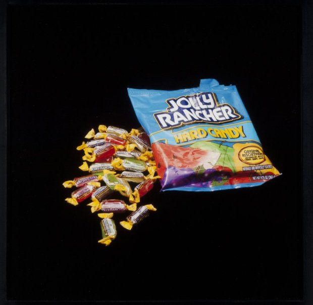 A packet of sweets