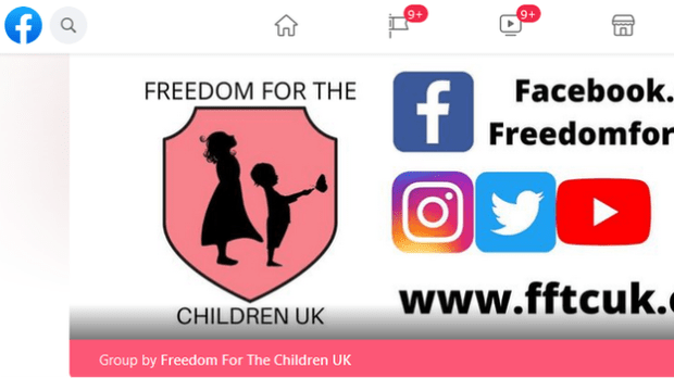 Freedom for Children UK Facebook page