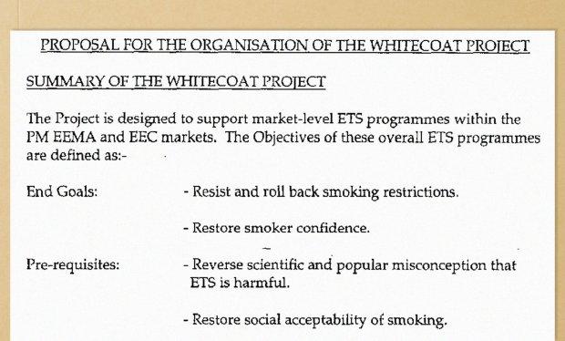 Operation Whitecoat