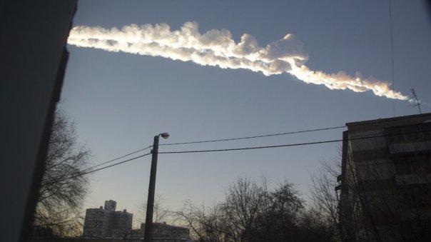 Lluvia de meteoritos en Chelyabinsk