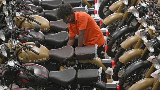 Royal Enfield is now owned by India's Eicher Group
