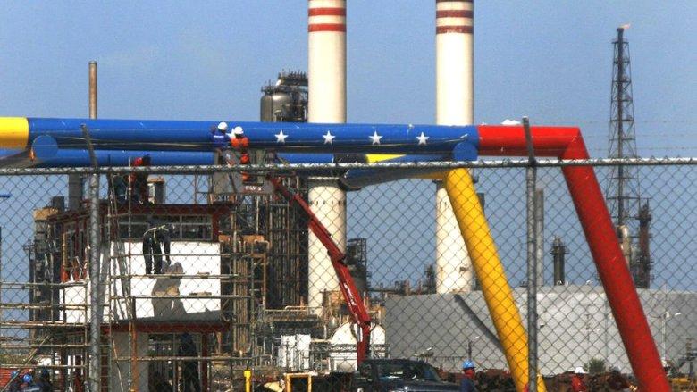 Extracción petrolera en Venezuela