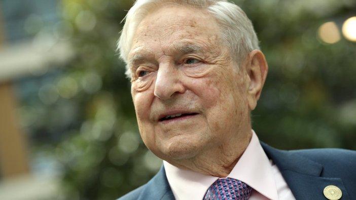 Primer plano del multimillonario y filántropo George Soros