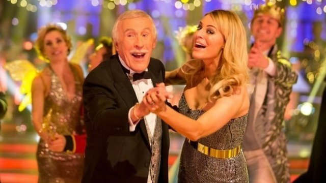 Sir Bruce Forsyth 'still had twinkle in eye' at the end