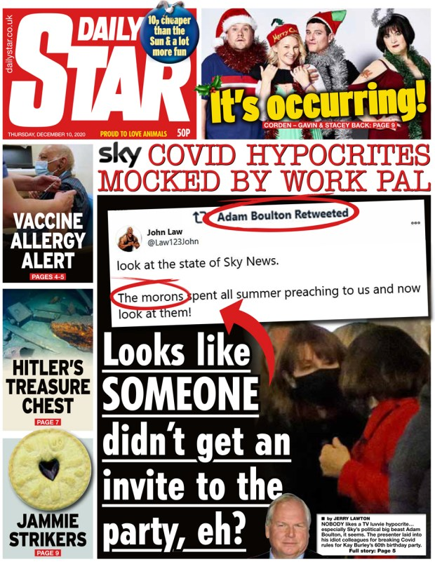 Daily Star 10 December