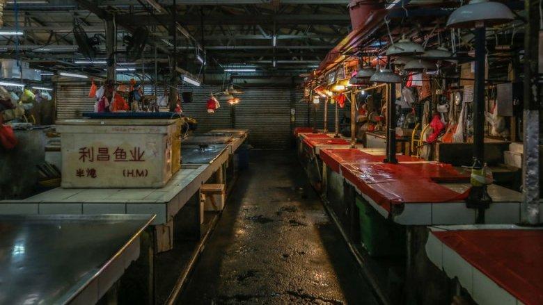 Mercado en Malasia