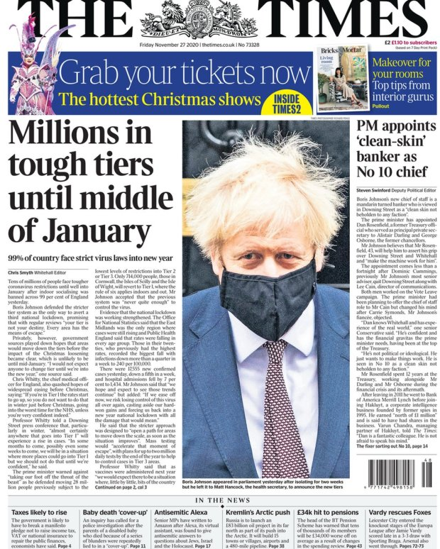 The Times 27 November