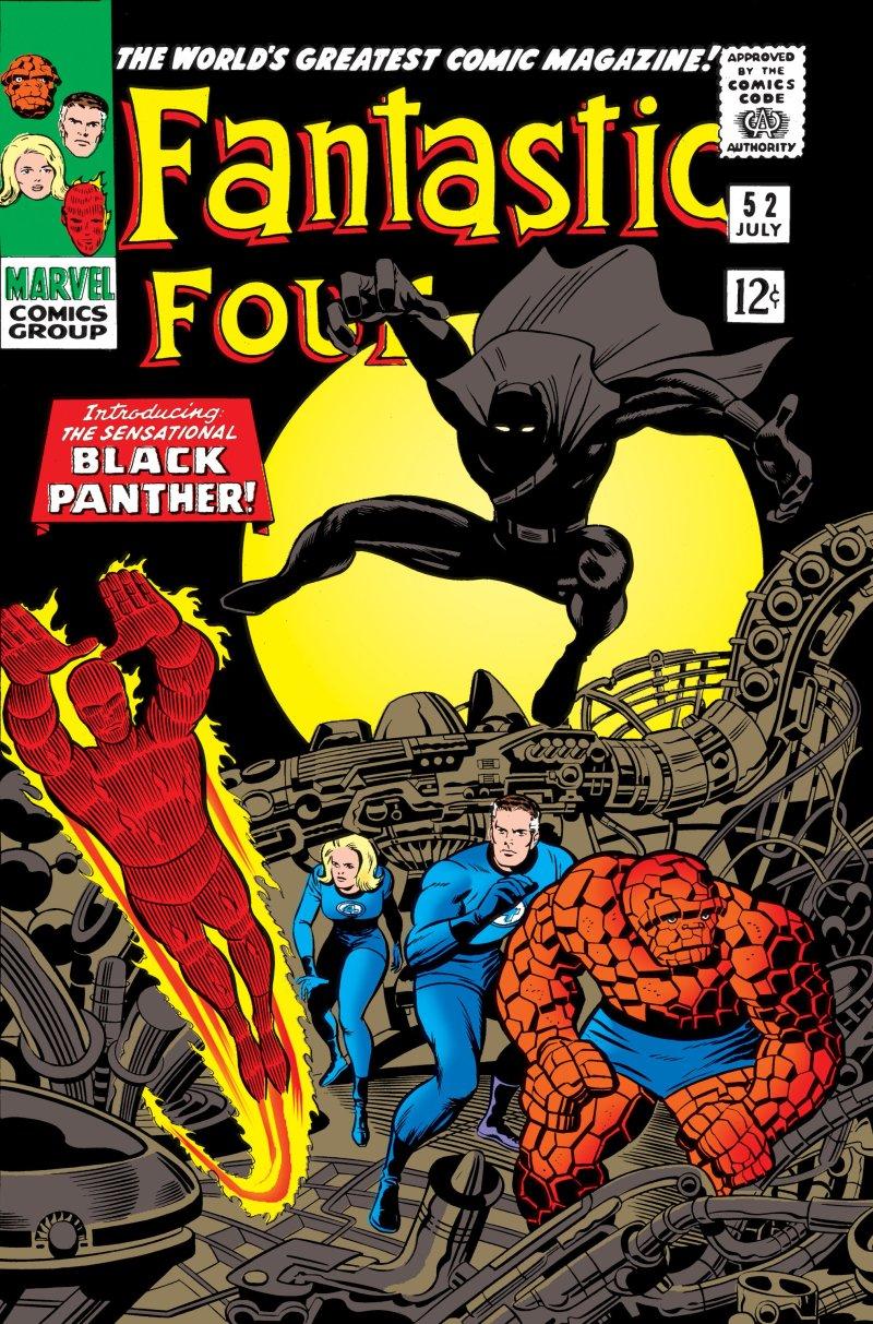 Fantastična četvorka i Crni panter