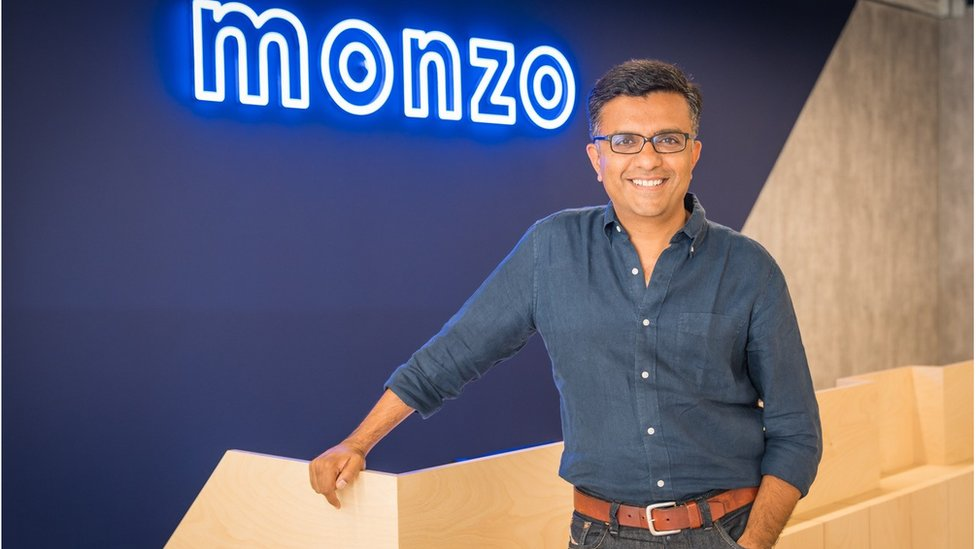 TS Anil, CEO of Monzo Bank