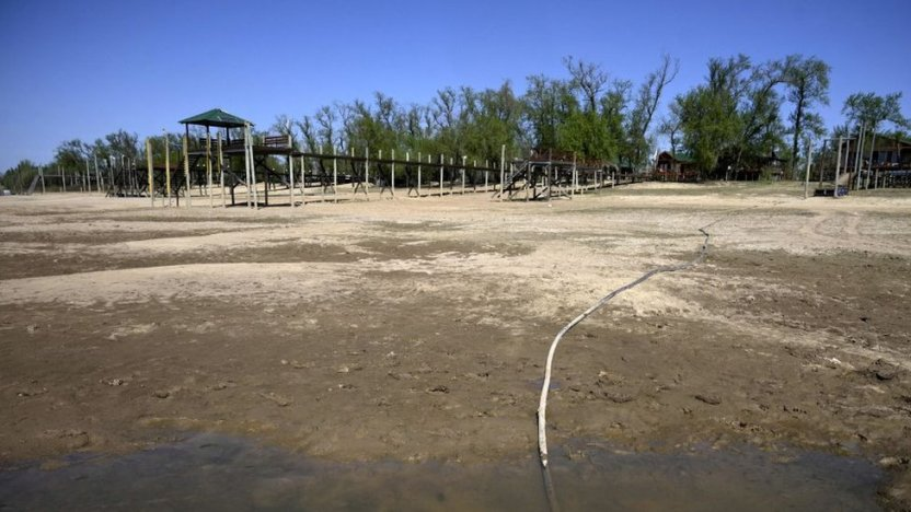 120409497 gettyimages 1234968463 - Las impactantes imágenes de la mayor sequía en 77 años del río Paraná, el segundo más largo de Sudamérica