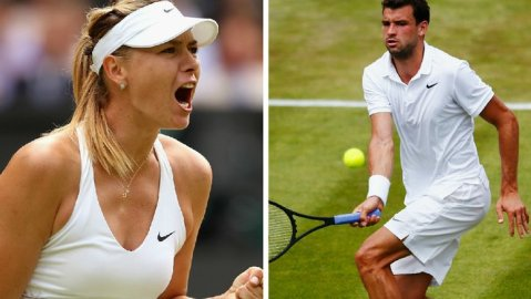 Maria Sharapova and Grigor Dimitrov