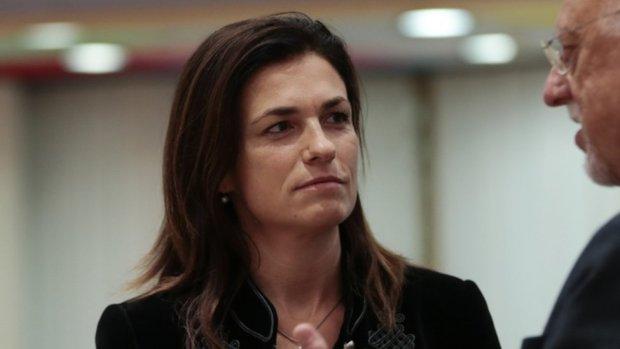 Hungarian Minister of Justice Judit Varga