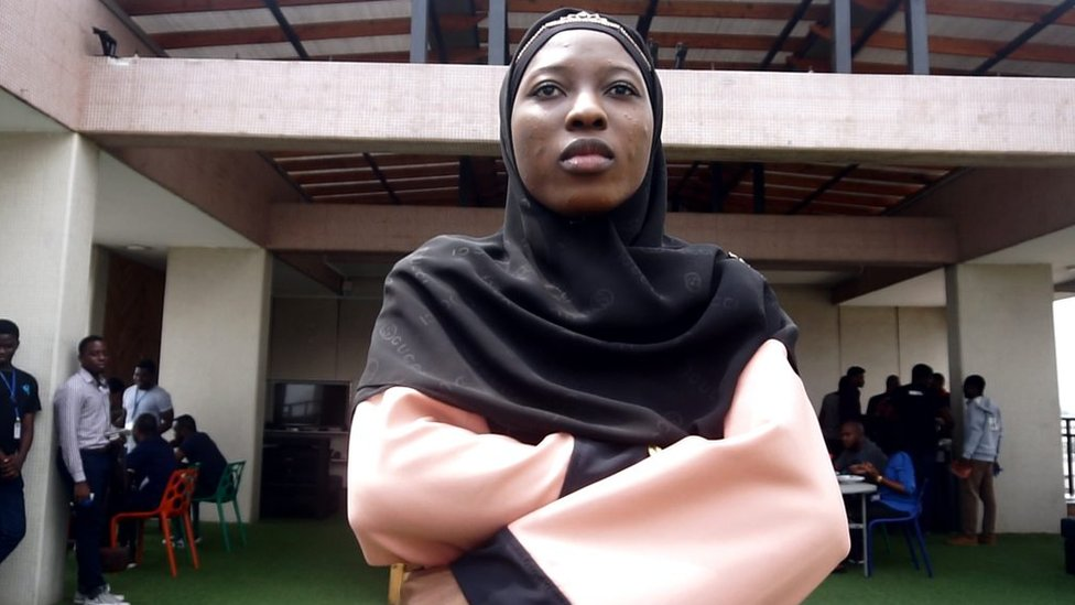 Friends since forever young european woman covering her head in studio at istanbul. Nigeria Di Hijabis Wey Dey Move Africa Tech Revolution Bbc News Pidgin