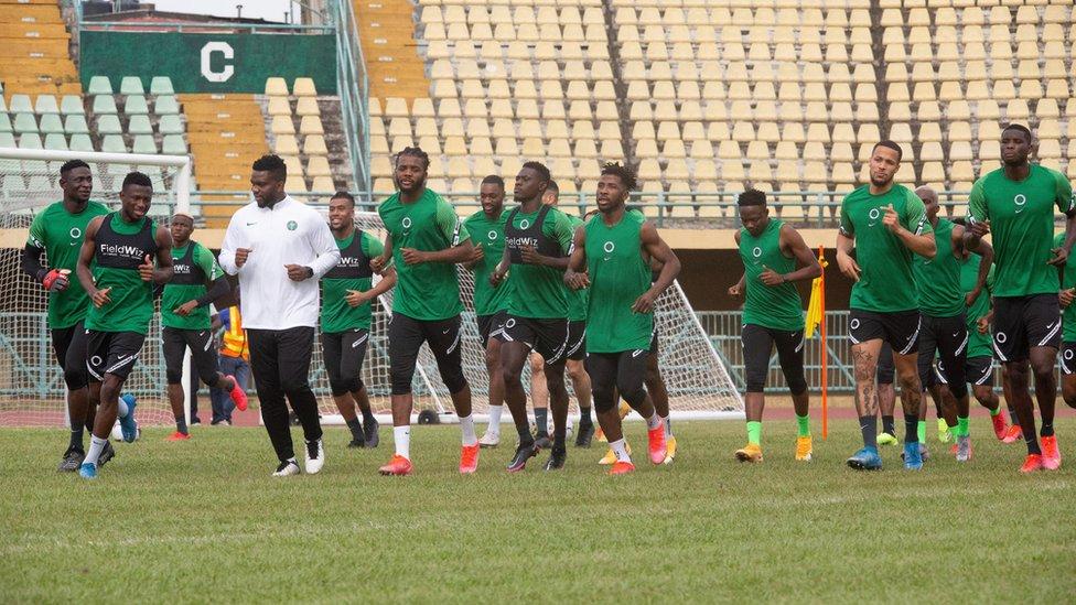 Benin vs Nigeria: Super Eagles captain reveal Nigeria game plan against di  Squirrels - BBC News Pidgin
