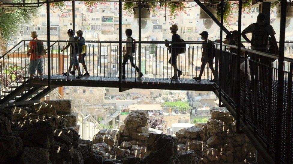 Sitio arqueológico de la Ciudad de David
