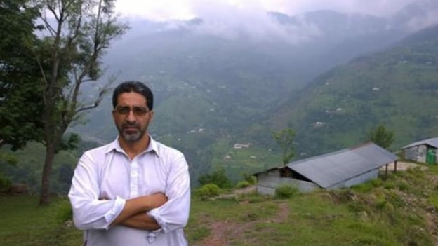 Mr Rafique has fought for independence for a united Kashmir