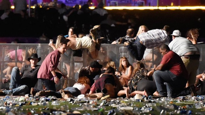 98102319 gettyimages 856538172 - Las Vegas shooting: 50 people killed in Mandalay Bay attack