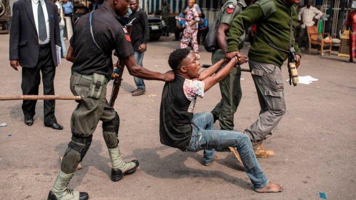 "SARS killing in Nigeria"" and police brutality provoke Naira Marley, Wizkid,  Davido, Teni, Psquare as Nigerians demand #EndSarsNow - BBC News Pidgin"