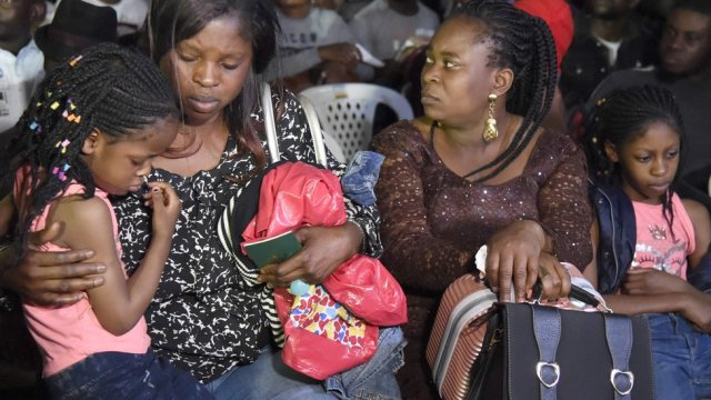 Image result for Only 188 First Set of Nigerians Fleeing South Africa arrives in Lagos