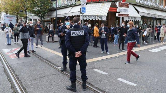 Police à Nice