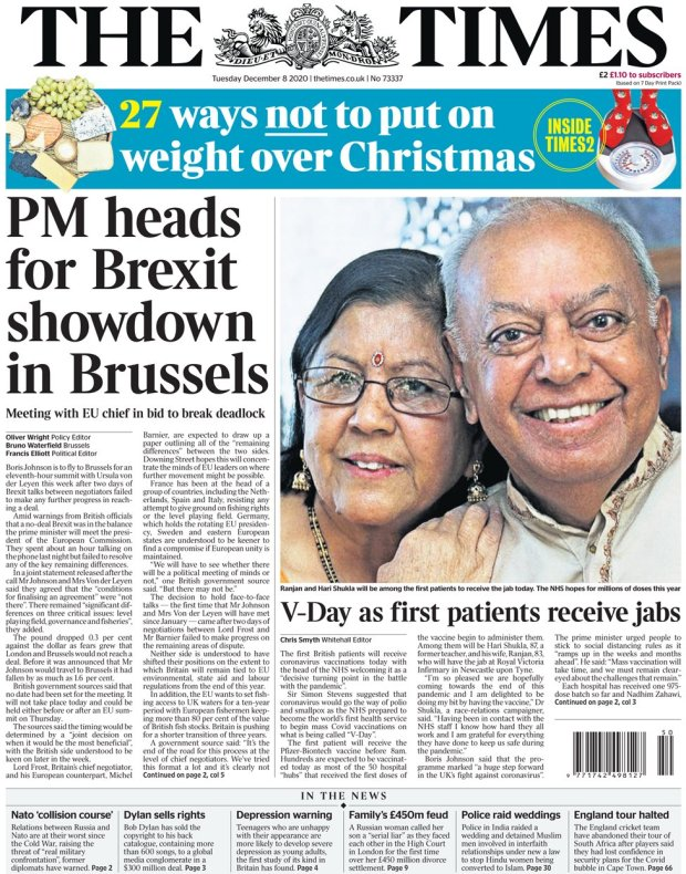 The Times 8 December