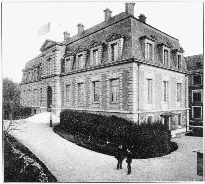 The Pasteur Institute, Paris, where Haffkine developed his cholera vaccine in 1892