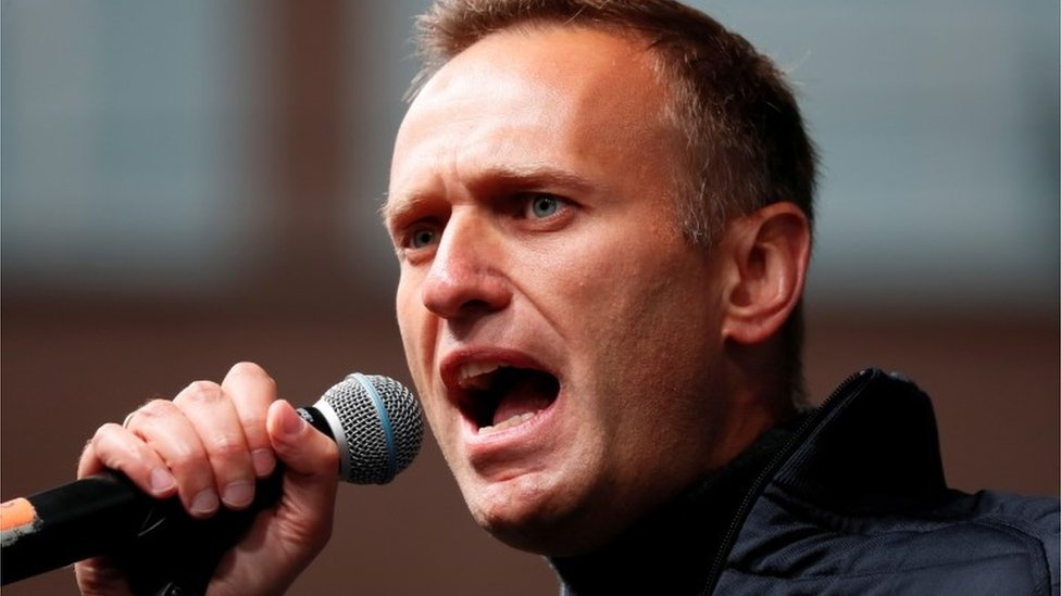 Kremlin critic Alexei Navalny