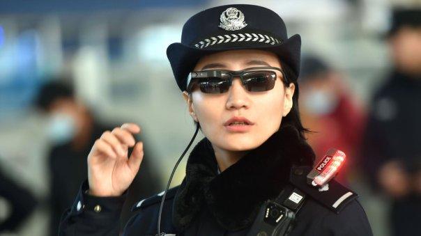agente policial enChina