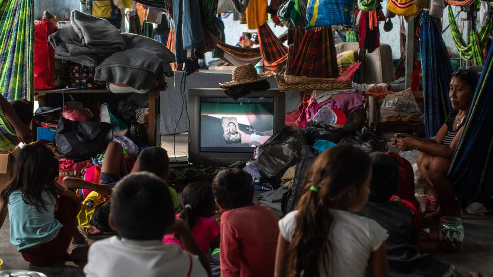 Niños en Brasil