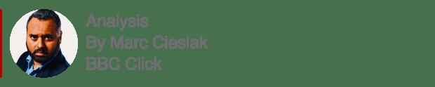 Analysis box by Marc Cieslak, BBC Click