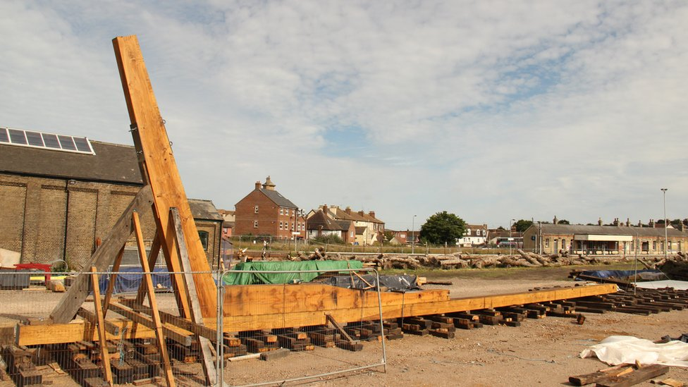 construction of the boat