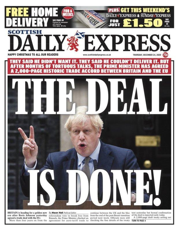 scottish daily express