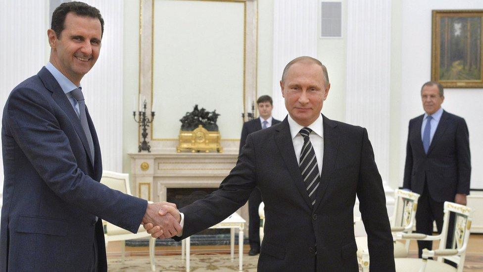 """La campaña aérea rusa para """"estabilizar"""" el gobierno de al Asad, ha fortalecido las posiciones de las fuerzas sirias."""