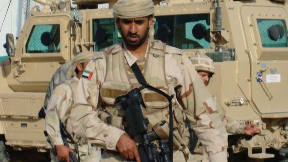 Se desplegó personal de las fuerzas especiales de los EAU en Afganistán.